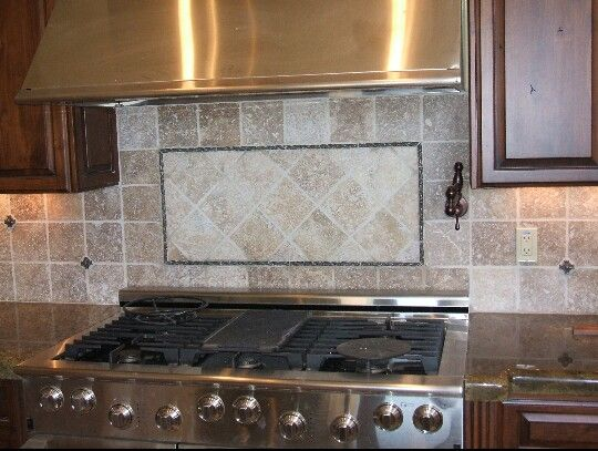 Tile Design/ This is a more budget friendly use of builders grade
