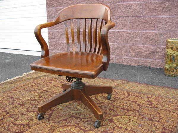Mission Swivel Desk Chair.