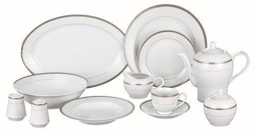 Lorenzo Milano-SL 49-Piece Dinnerware Set, Service For 8 by Lorenzo from Gifts for You 'n Me  http://www.amazon.com/gp/product/B004ZD2J0M?ie=UTF8=A1419KZRNP4OQB=Gifts%20for%20You%20%27n%20Me