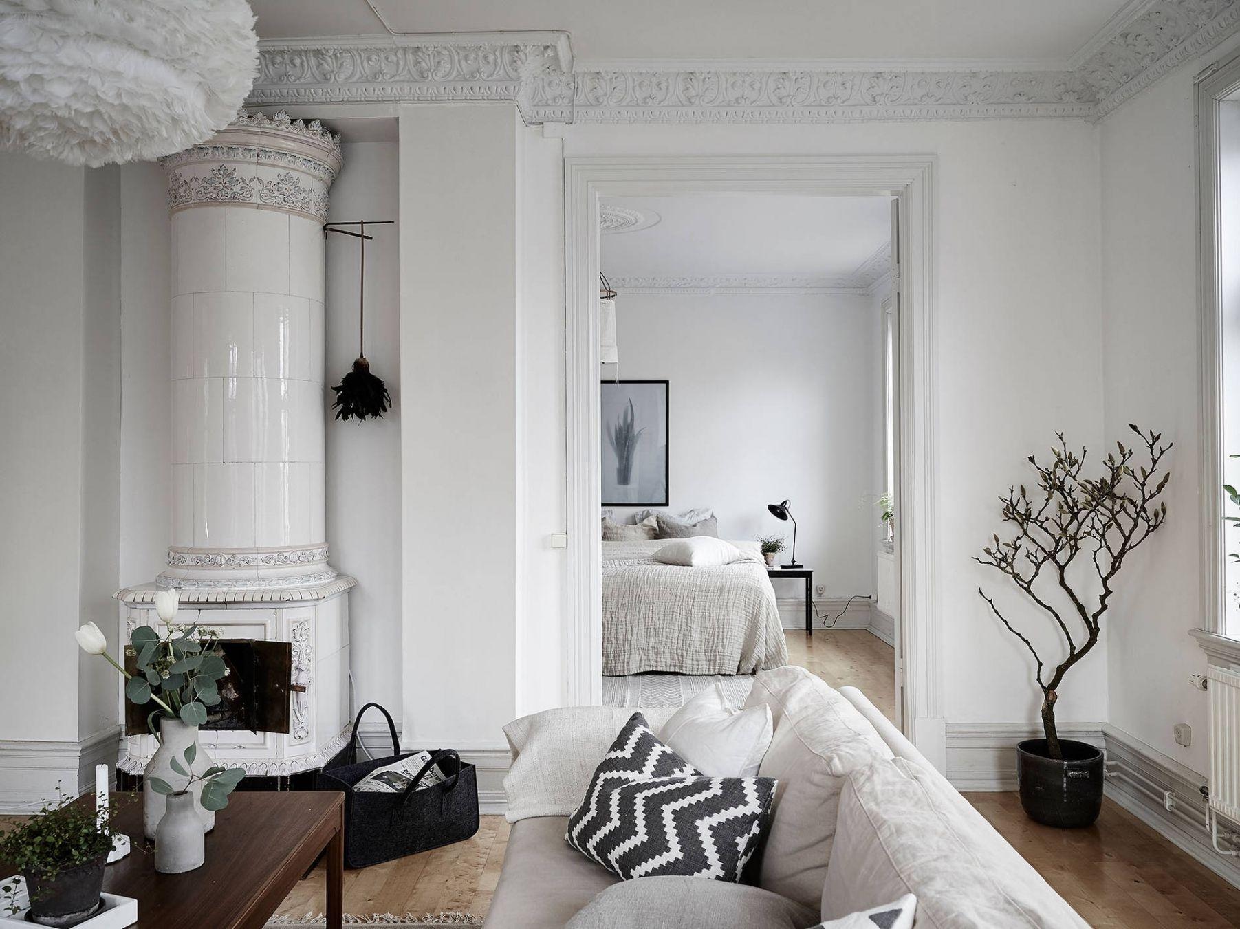 Wohnzimmer Altbau Modern Diele Einrichtungsideen Landhaus Groser