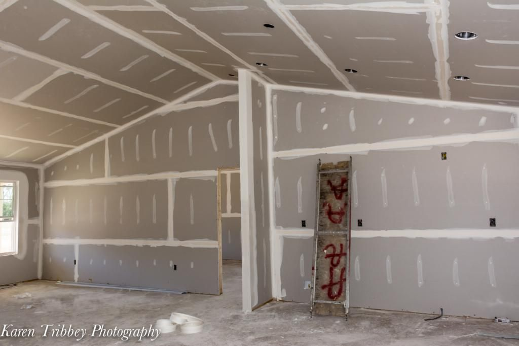 An Interior View Of The Home As It S Taking Shape Building A House Home Habitat For Humanity