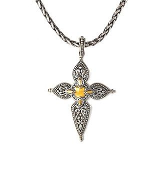 Effy® 925 Collection Cross Pendant in Sterling Silver