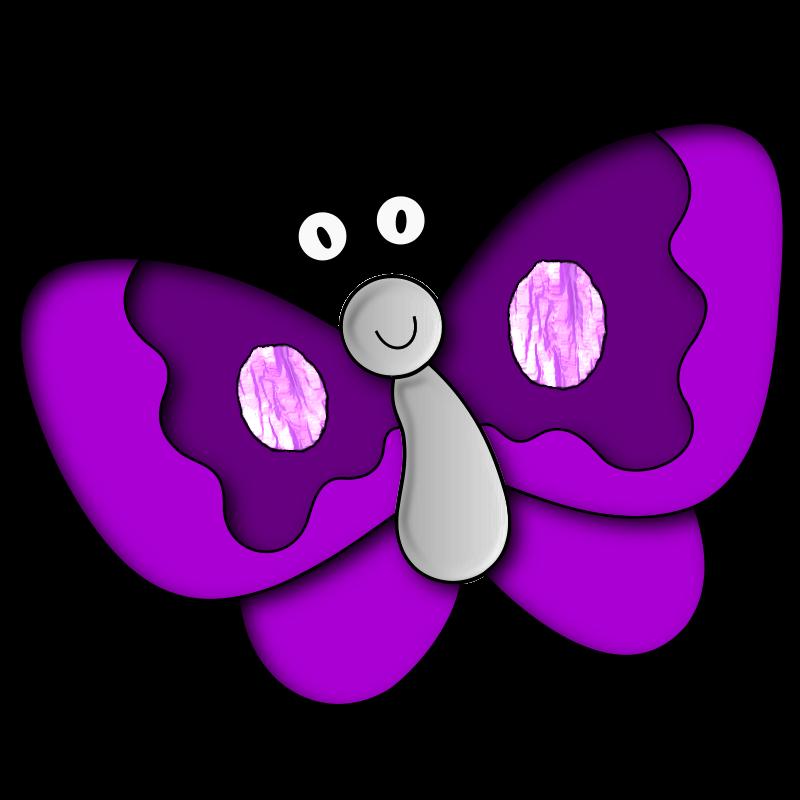 Purple Butterfly Clip Art | 20 purple butterfly clip art . Free ...
