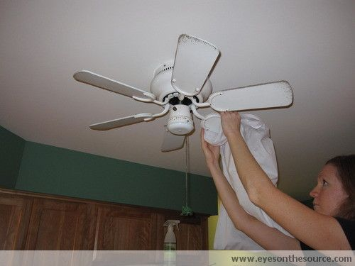 How to clean a ceiling fan eyes on the source cleaning how to clean a ceiling fan eyes on the source aloadofball Gallery