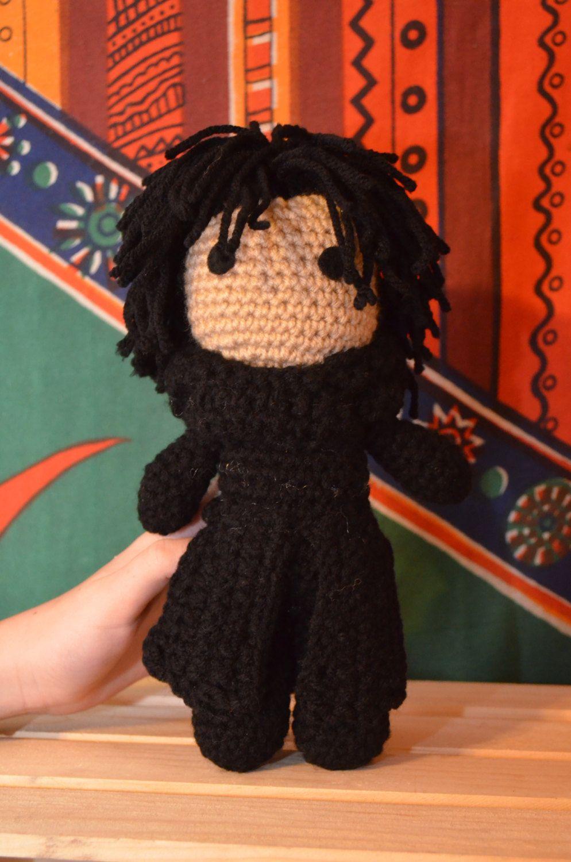 Kylo Ren Star Wars Episode 7 VII crochet doll | Pinterest | Patrones ...