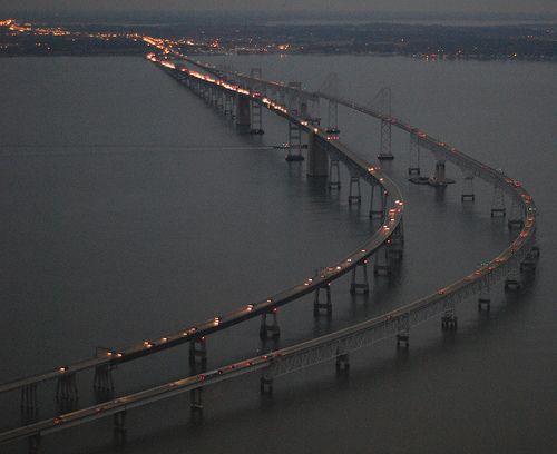 Bay Bridge Night Looking East 7790 | Flickr - Photo Sharing!