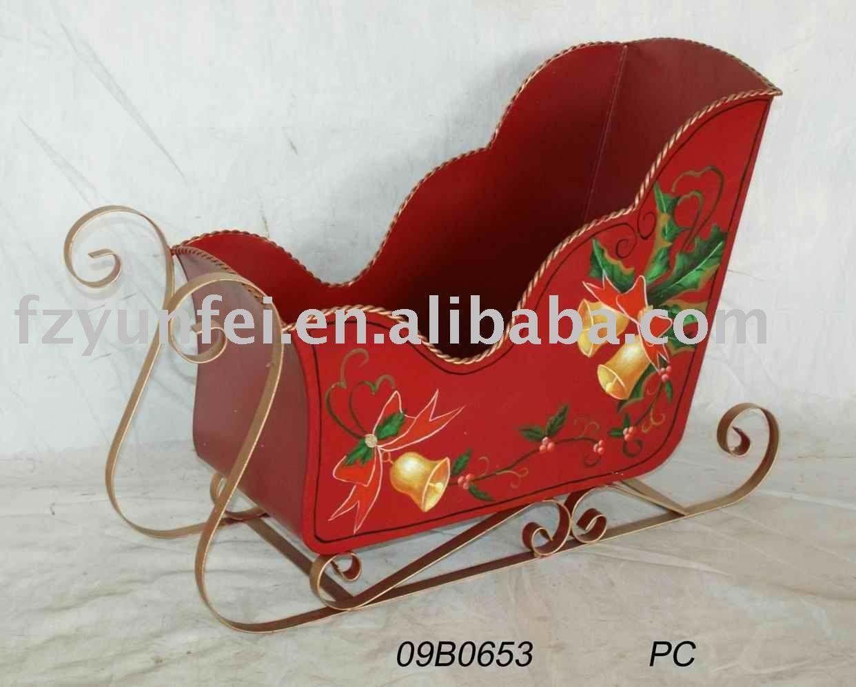 Trineos de navidad en fieltro buscar con google ideas for Trineo madera decoracion
