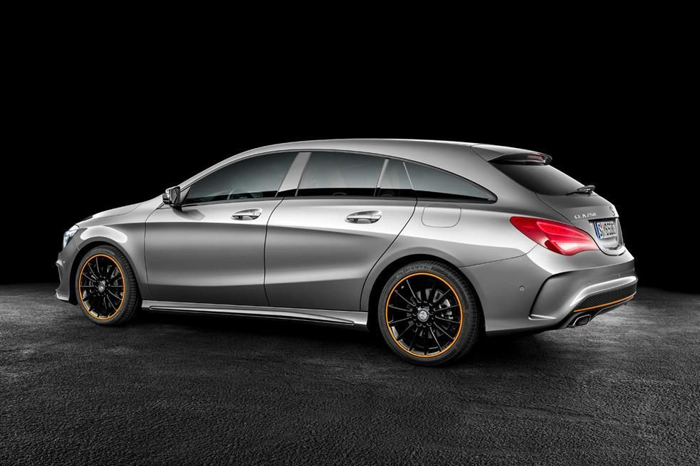 Mercedes Cla Shooting Brake Side Photos Carbooq Beta With