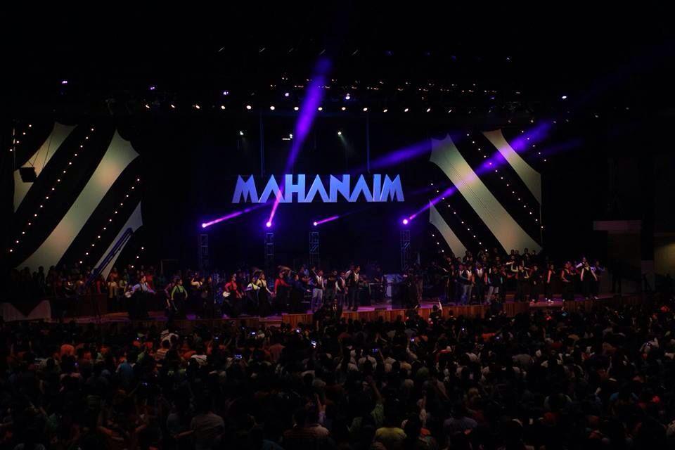 #Mahanaim Stage at Iglesia de Cristo Ebenezer