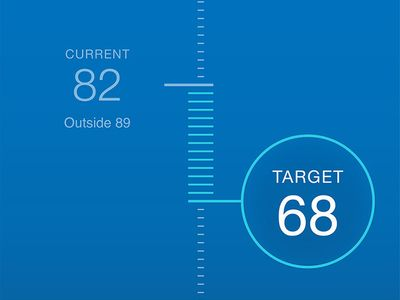 Thermostat App Interaction