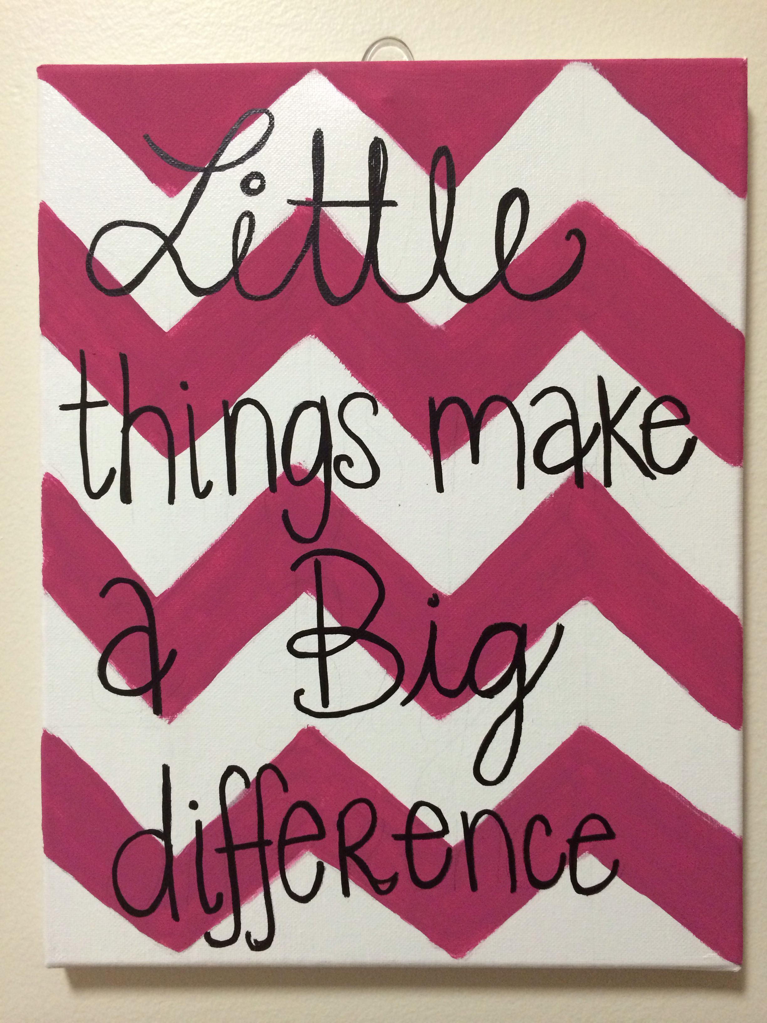 Cute big/little ideas my sweet big made me!