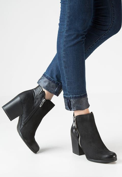 Ankle Boot Black Zalando Pl Boots Ankle Boot Black Ankle Boots
