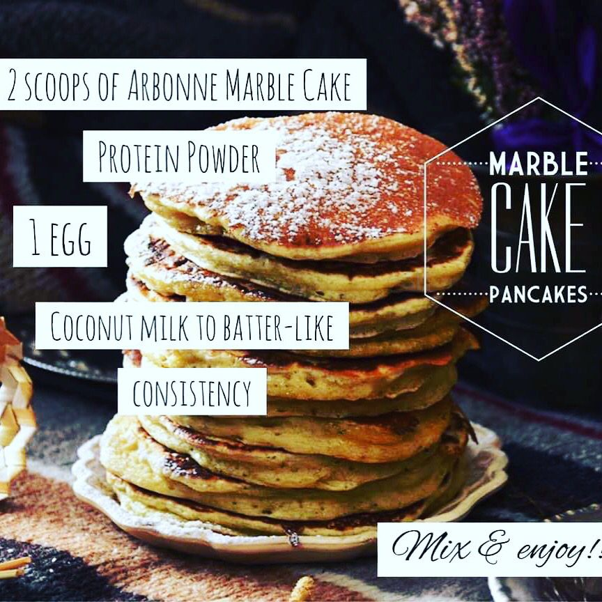 Marble Cake Protein Arbonne