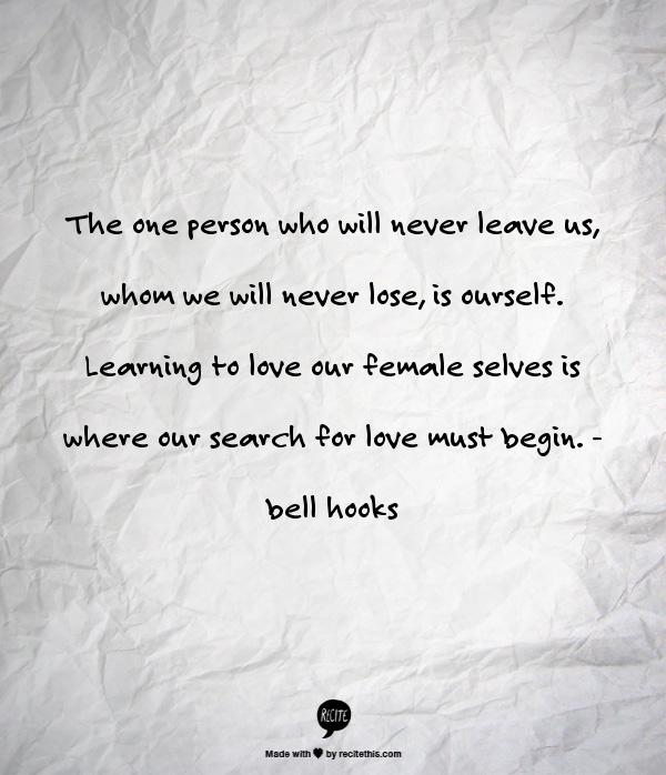 Bell Hooks Poems 5