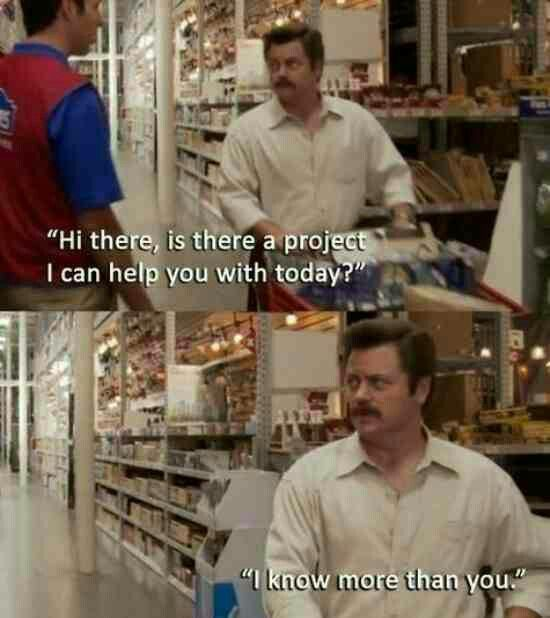 Every Time I Go To Lowes Or Home Depot Jokes Quotes Funny Pictures Humor