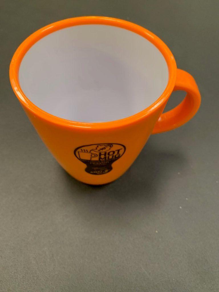 BRUNNER Hot Mug Orange   Campervan, Sake, Husbil