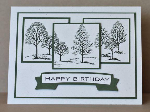 Stampin Up handmade birthday card black and white – Handmade Birthday Card Ideas for Men