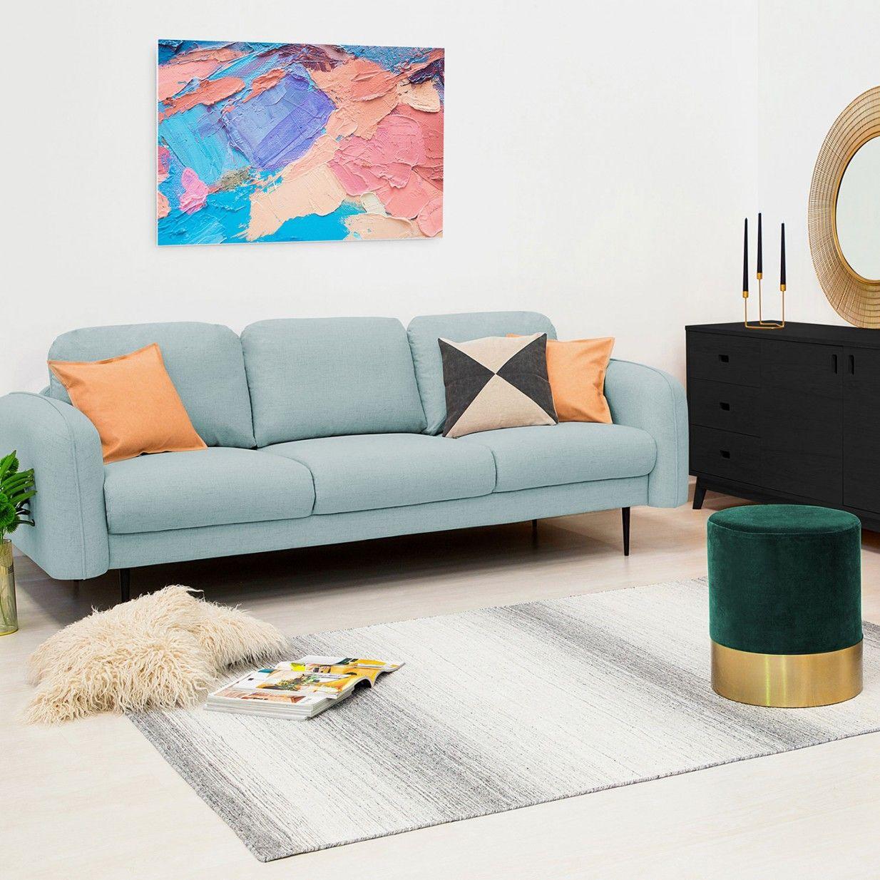 Skolm 3er Sofa Mint Vivonita Studio Interior Sofa Home Decor