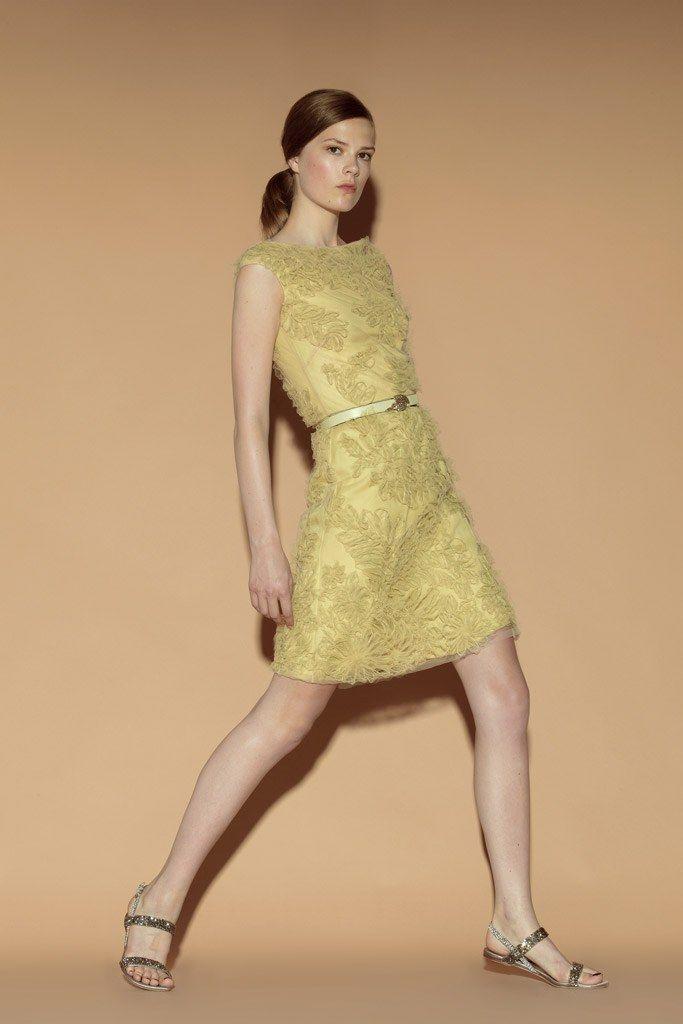 Valentino Resort 2012 Fashion Show - Caroline Brasch Nielsen
