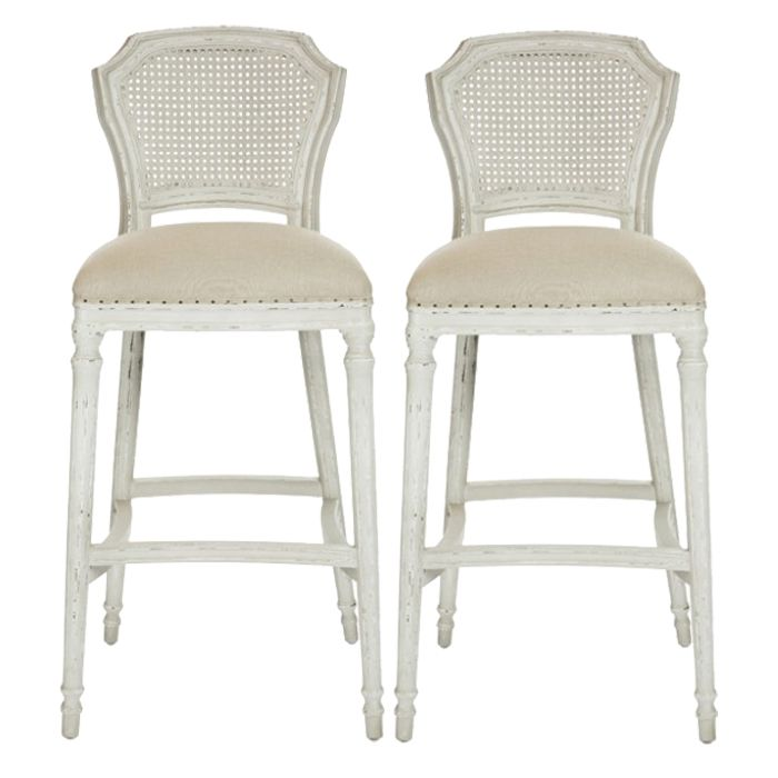 Shabby Chic Style Barstools Chelsea Bar Stool Belle Maison Shabbychic Frenchchairs Shabby Chic Bar Stools French Shabby Chic Furniture Bar Stools