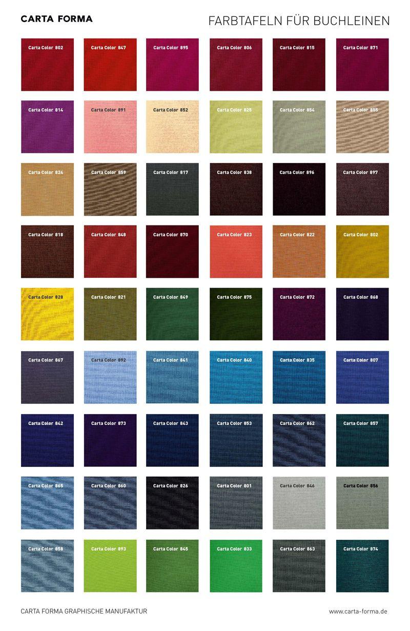 Passende Farben portfolio box manufakturarbeit carta forma schöpft aus einer
