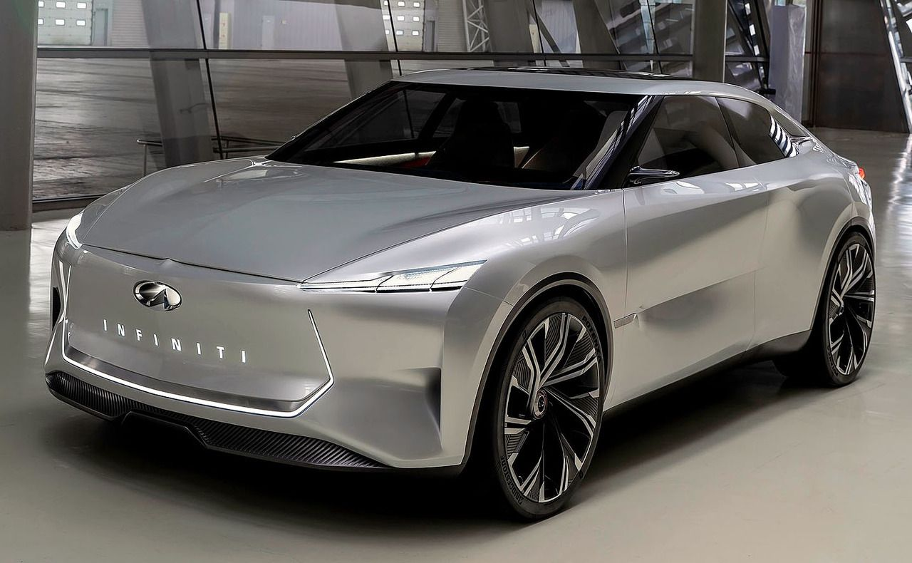 Infiniti Qs Inspiration Concept 2019 A Prototype For A New Electric Sports Sedan The Qs Inspiration Combines An Elev Sports Cars Luxury Infiniti Luxury Cars