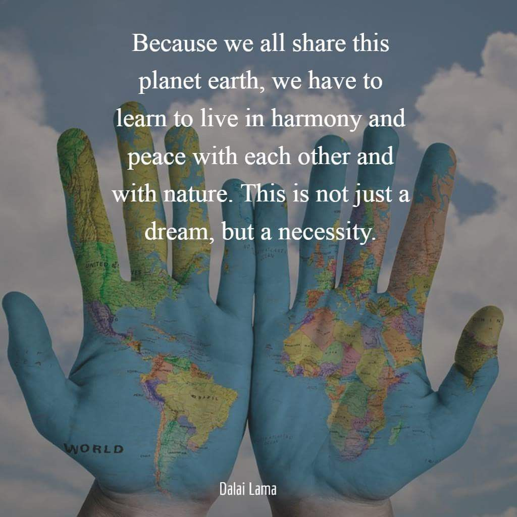 Pin By Leanna Mclean On Earth Day Harmony Quotes Earth Quotes Peace Quotes