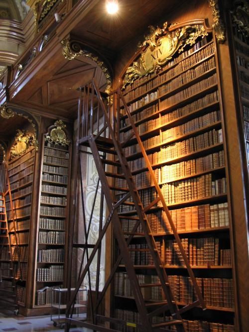 Cool Library of the Day: National Biblioteck, Vienna