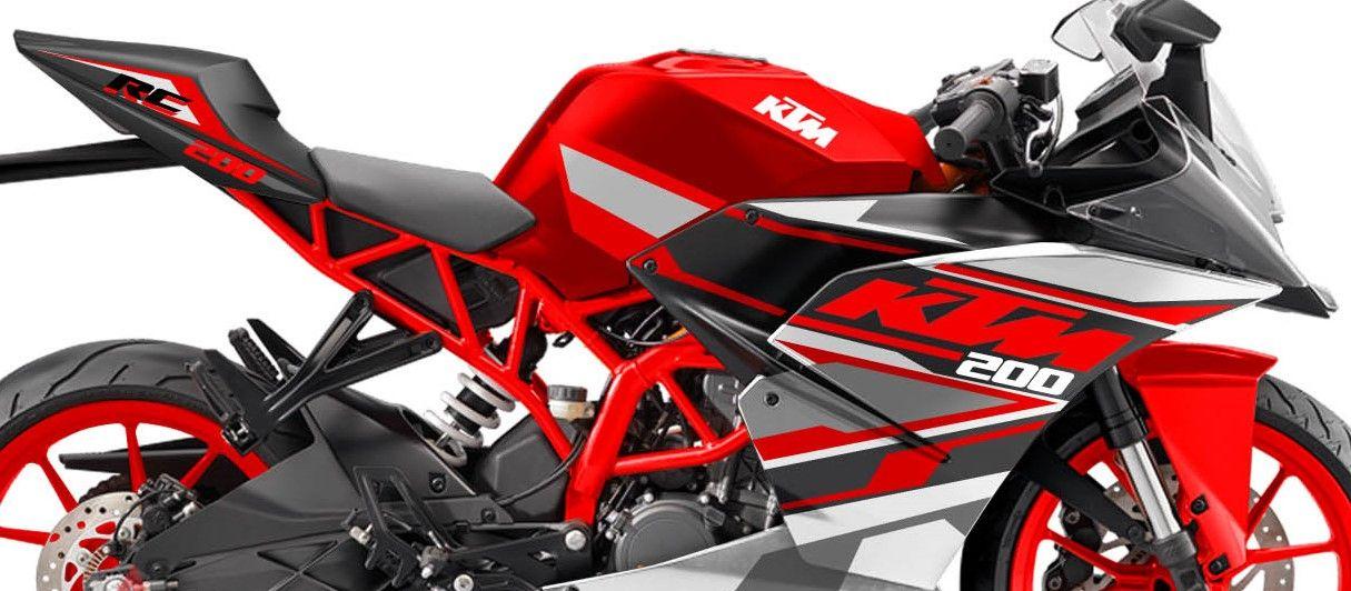 Ktm Rc 200 Red Spirit Edition By Motoblast Ktm Rc 200 Ktm Ktm Rc