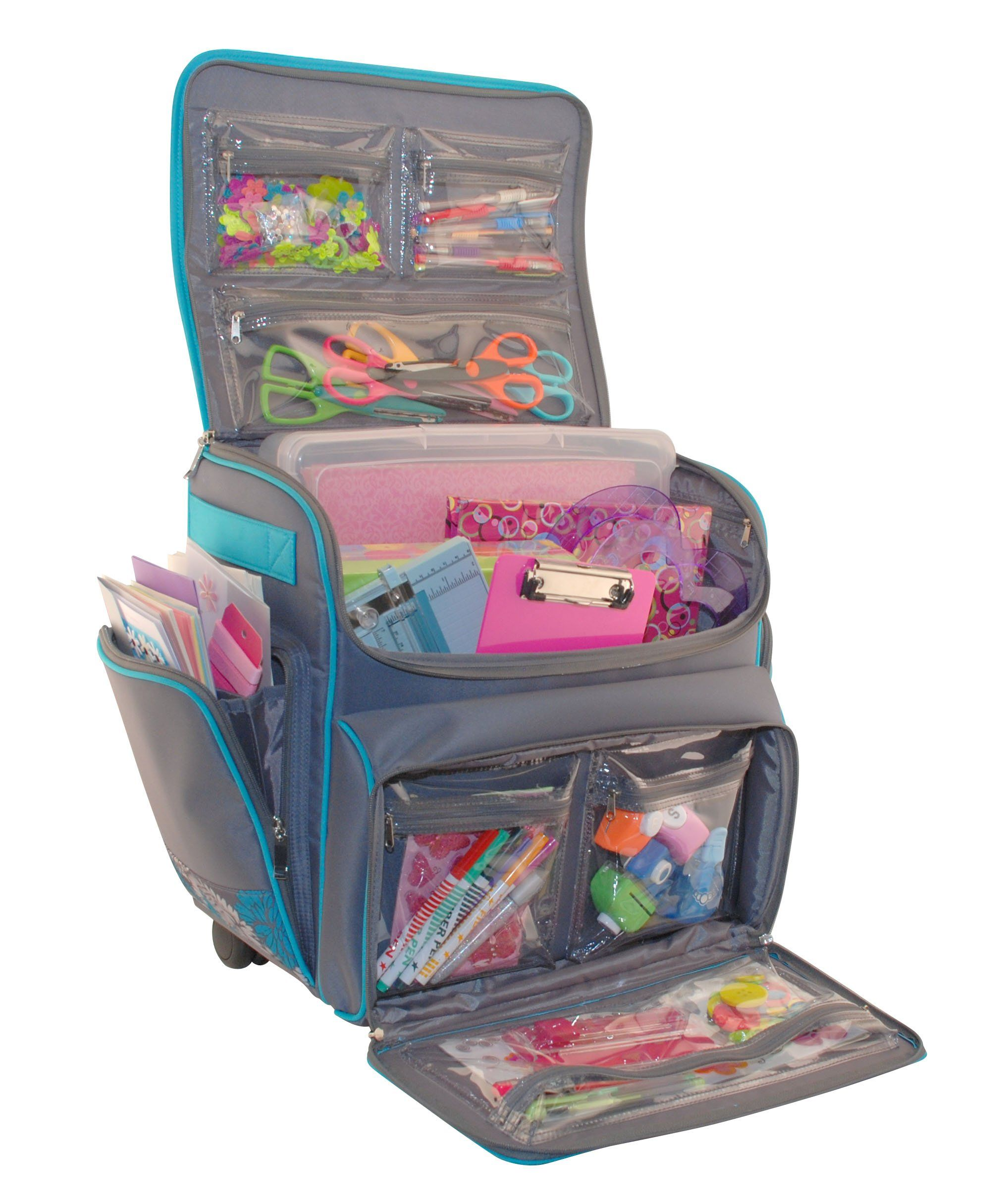 Everything mary scrapbook rolling tote