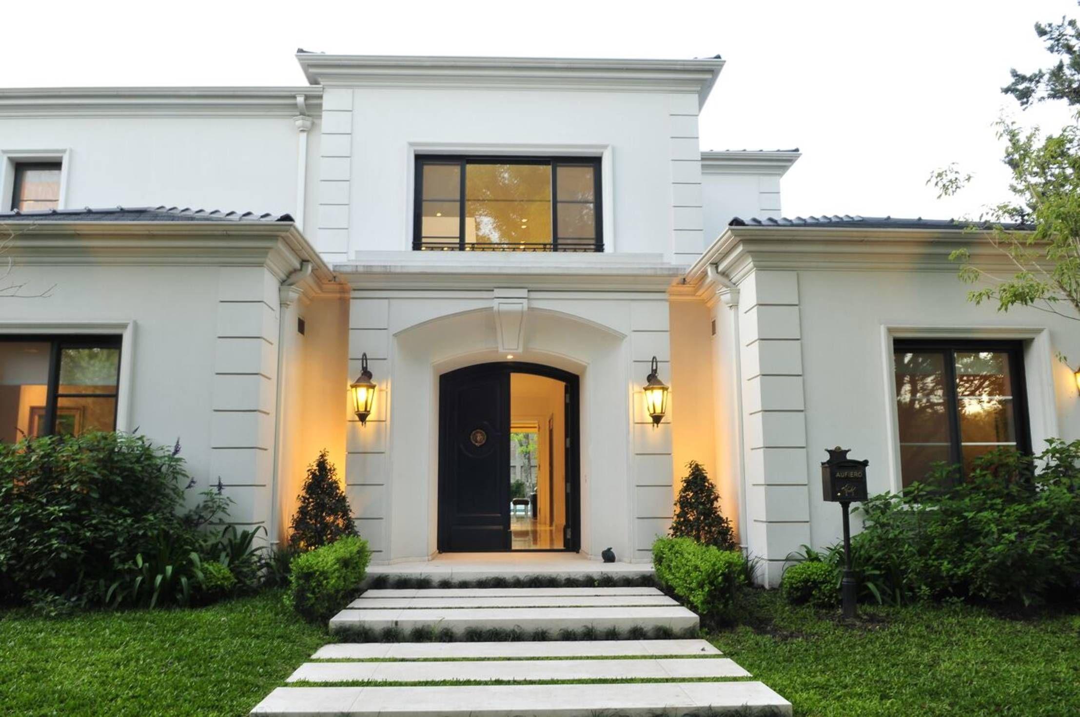 Fachadas Entradas De Casas Casas Elegantes Y Casas