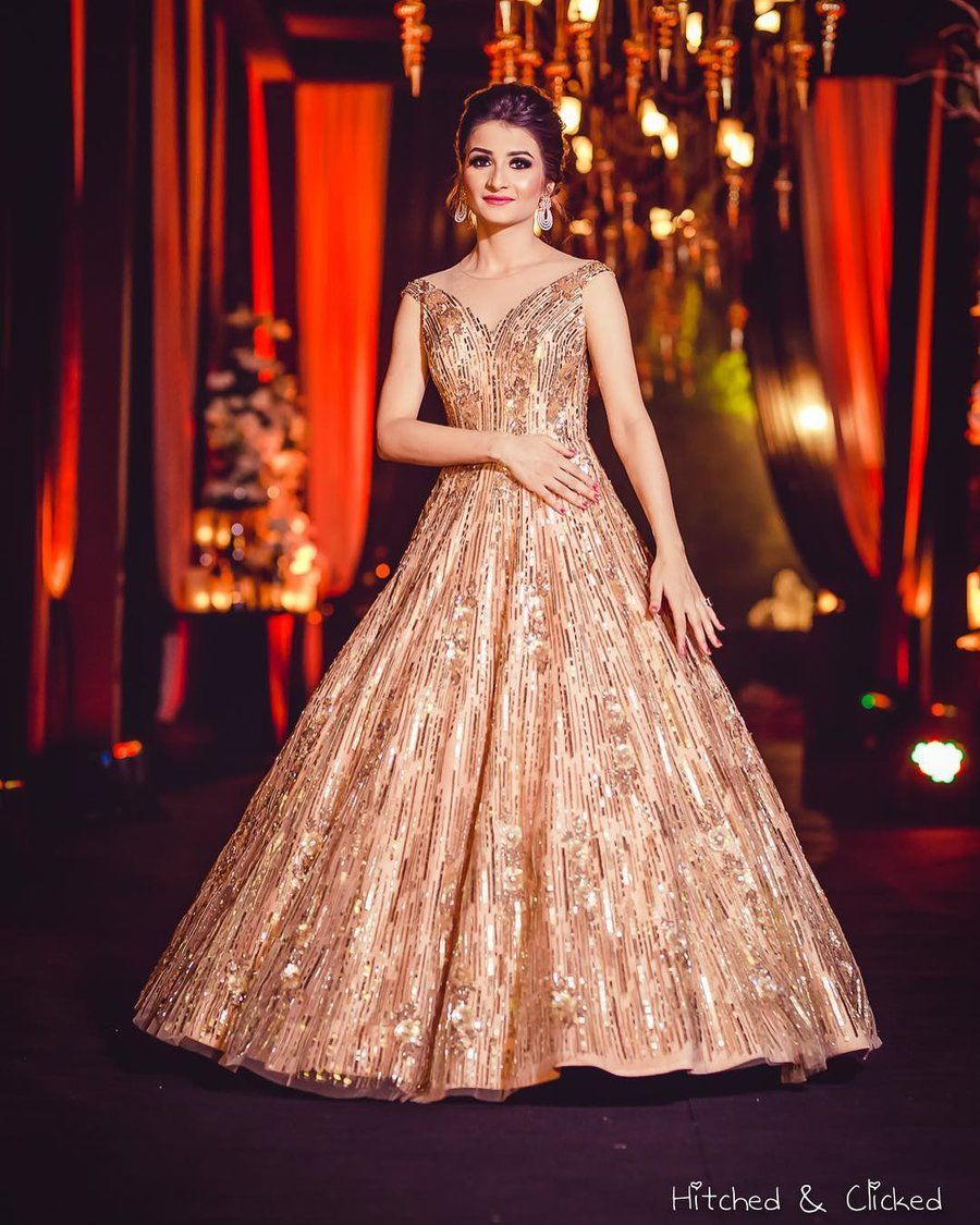 Our Favourite Brides In Spectacular Wedding Outfits By
