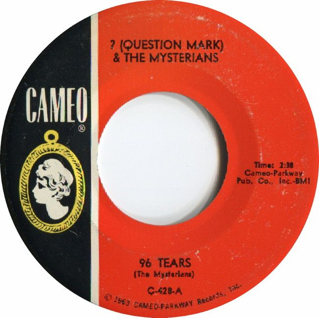 A garage rock favorite  A Number one song in 1966  Question