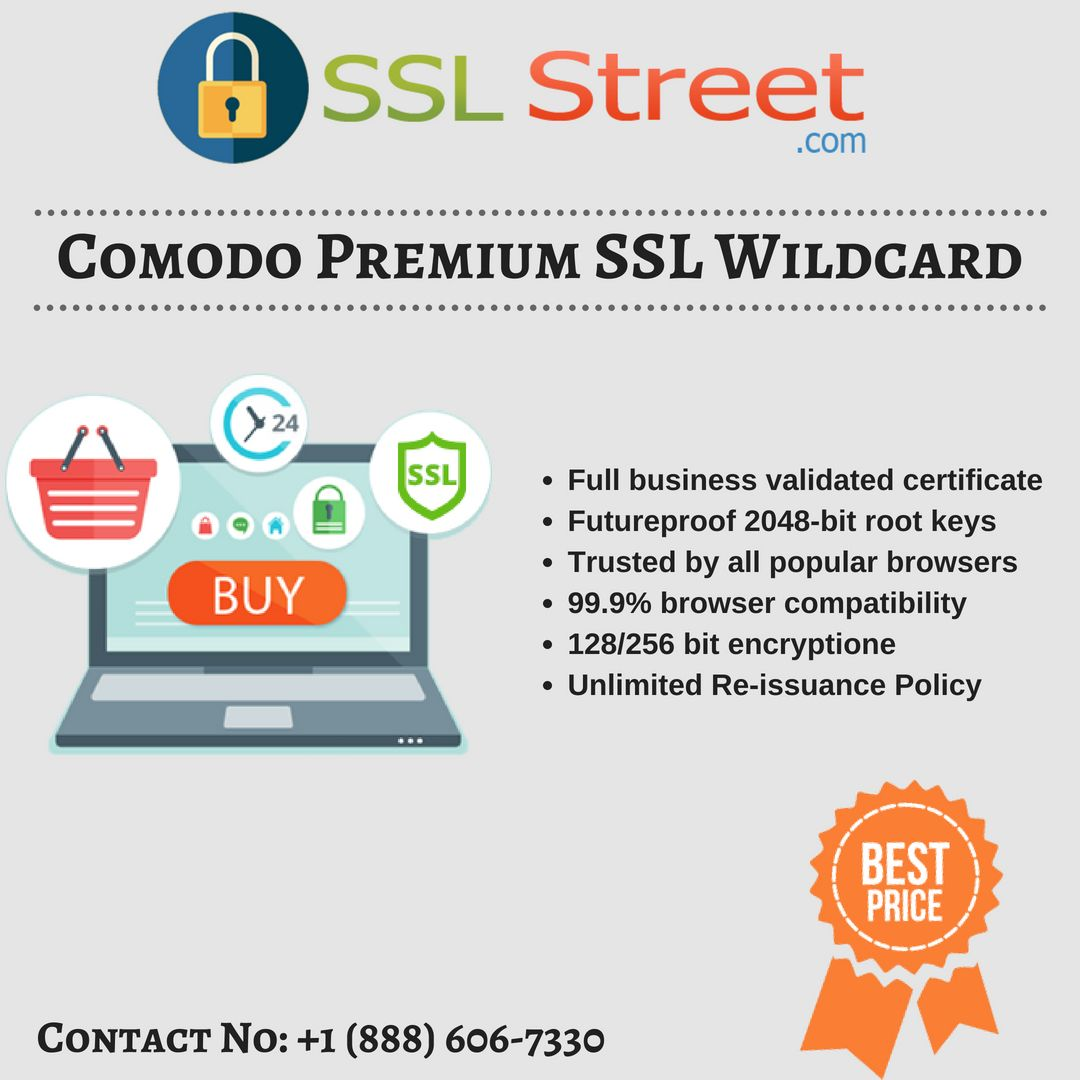 Comodo Premium Ssl Wildcard Certificate Provides Secure Connection