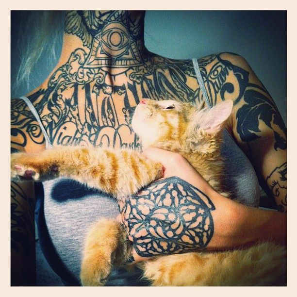 ink and cat