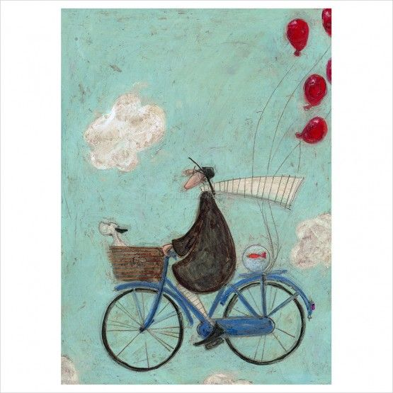 sam toft imagination can take you anywhere limited edition print