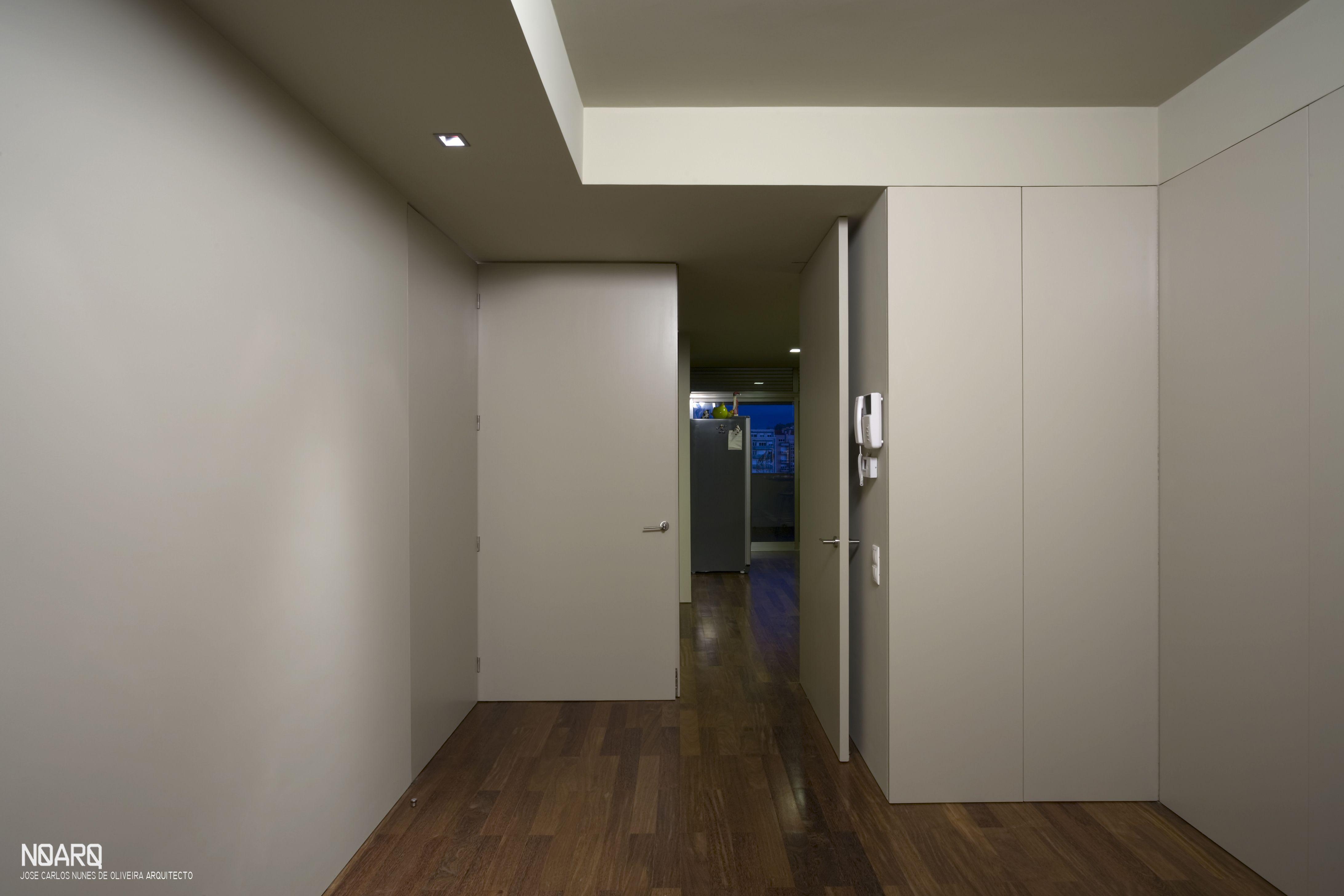 Edujo apartment doors noarq renovation living kitchen wood