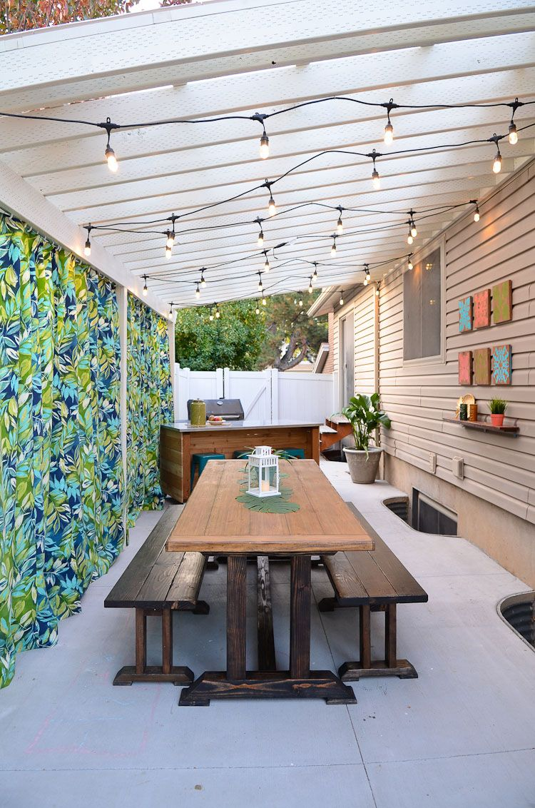 creating a backyard oasis on a budget