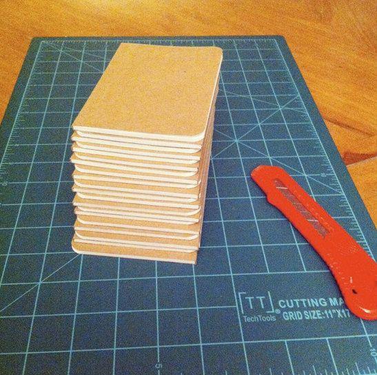 Bulk Hex Paper Civilization V Notebooks, Handmade Pocket Journals