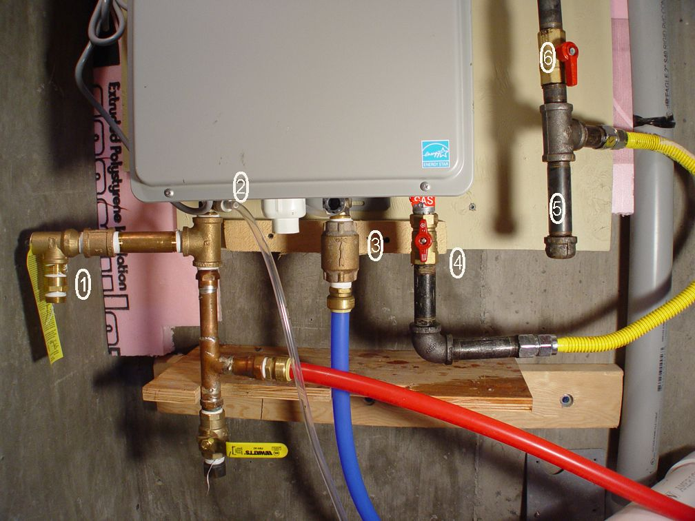 Tankless Water Heater Details By The Numbers Tiny