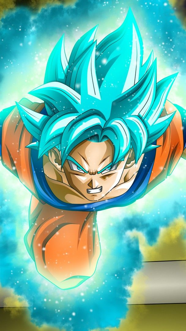 Dragon Ball Super iphone Wallpaper Blue wallpaper iphone