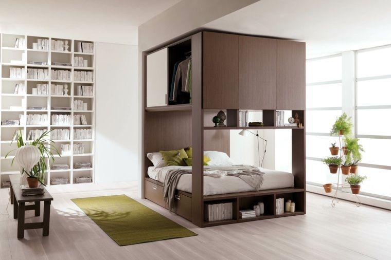 fa ons d 39 am nager studio 58 id es int ressantes small. Black Bedroom Furniture Sets. Home Design Ideas