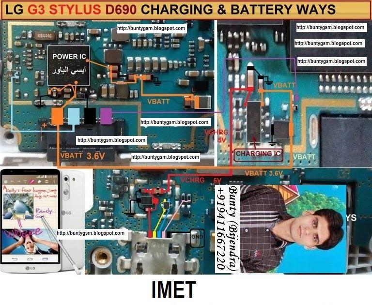 Lg G3 D690 Charging Usb Problem Solution Jumper Ways