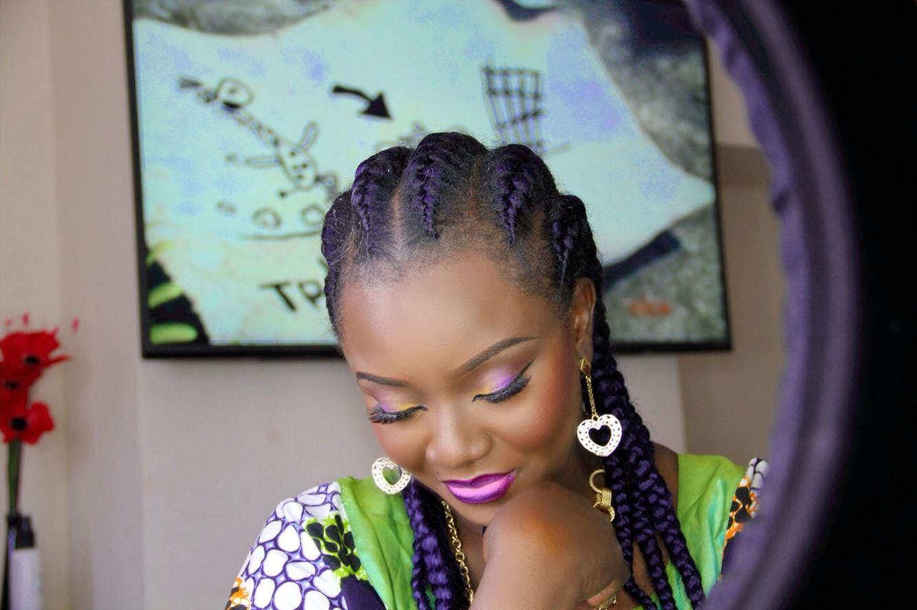 Didi Olowo Hairstyle French Braids African Nigerian Braids