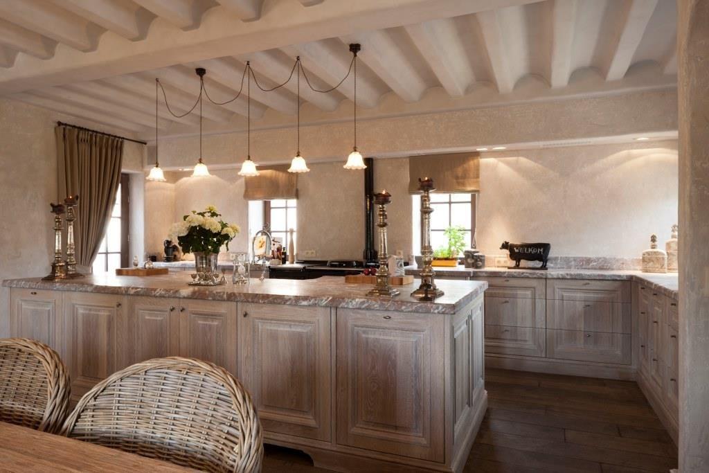 Landelijk wonen landelijke keuken keukens pinterest cottages and met - Decoratie van toiletten ...