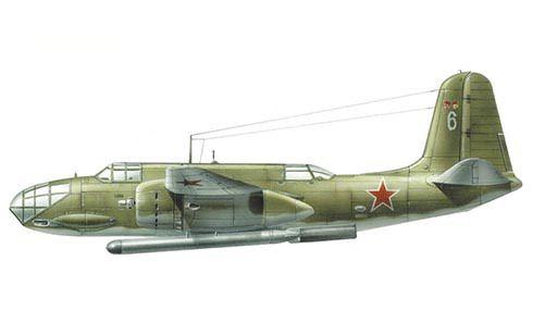 Douglas A-20 C Havoc, de la Fuerza Aérea Rusa, va armado con torpedo. Pin by Paolo Marzioli