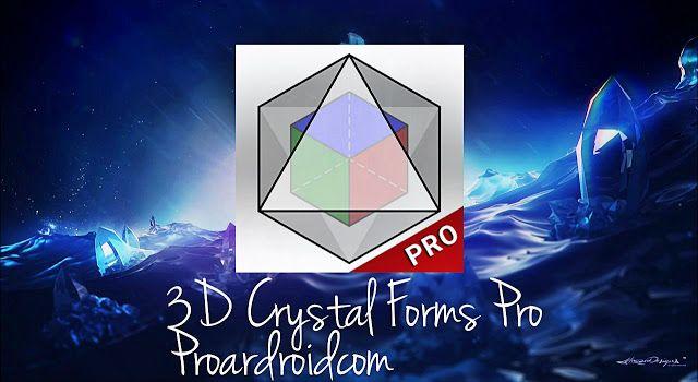 ريستال 3d أشكال برو هو تطبيق الروبوت الكامل الذي هو موجهة أساسا لعلوم الأرض الطلاب الجيولوجيين الجامعيين كدليل في العمل المخبري 3d Crystal Crystals Poster