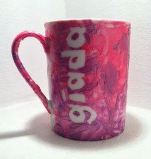 La tazza personalizzata per abbandonare il biberon...