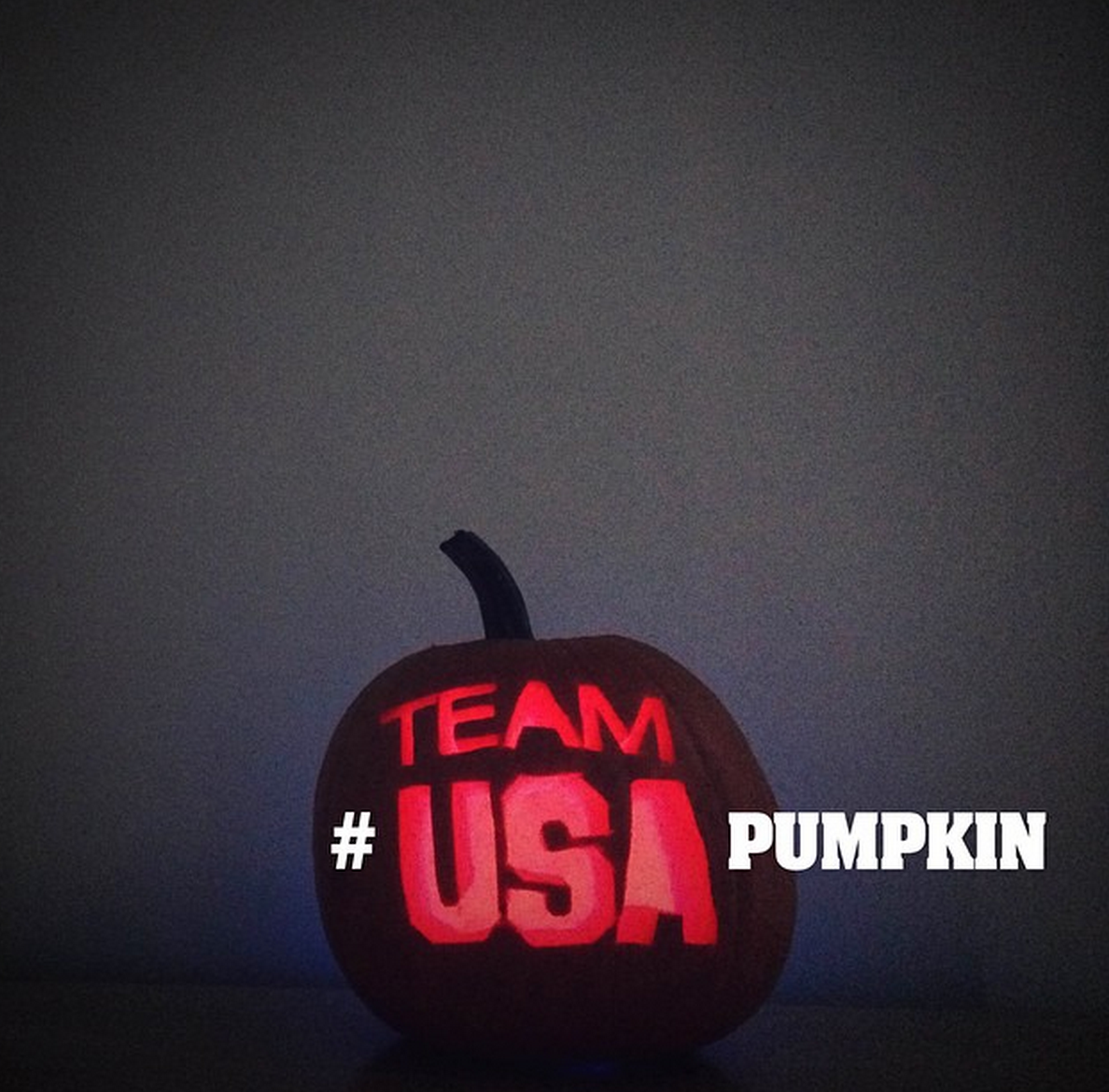 Happy halloween send us your team usa themed pumpkins using the