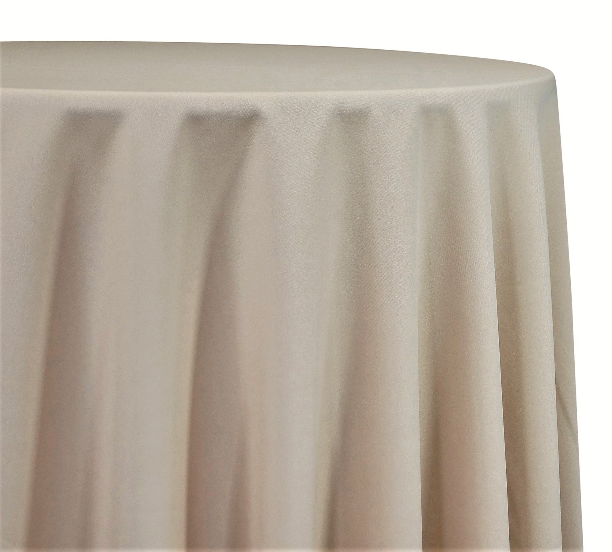 Premium Polyester Poplin Tablecloths Overlays Wholesale
